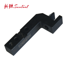 Professional manufacturer black anodizing 7075 aluminum milling cnc part