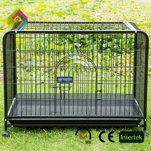 Fiberglass dog kennel sturdy and durable enclosed pet fence dog fence to assemble and remove small pet litter