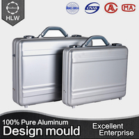 HLW best selling popular waterproof protective aluminum frame cosmetic case
