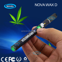Cool design 300mah slim portable herb and wax pen Nova Wax D vip electronic cigarette
