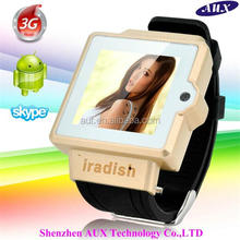 2014 1. 54 inch Dual CORE wrist watch android mobile phone i6 smart phone