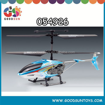 3.5 channel rc alloy helicopter with light 24cm diameter of main rotor helicopter 054926