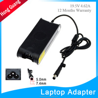 CE RoHs FCC laptop adapter 19.5v 4.62a eu au us adapter for genuine dell