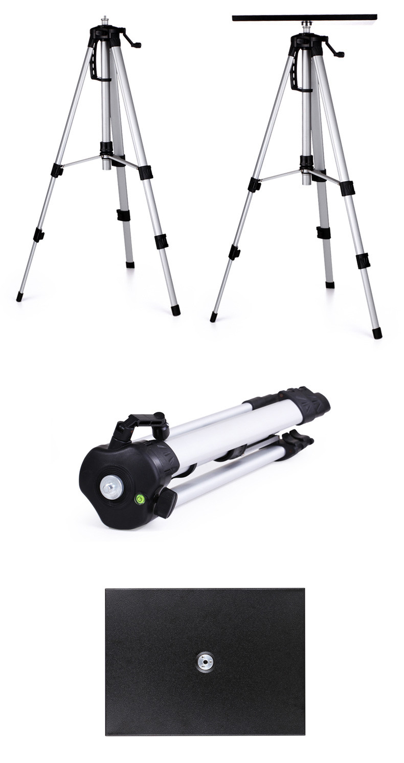 Portable Tripod Mount Bracket Holder Stand Tripods Universal Aluminum stand Plate Laptop HD Projector camera DV