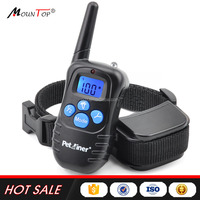Pet Dog Training 300 meters LCD Remote control dog Collar training bark collar