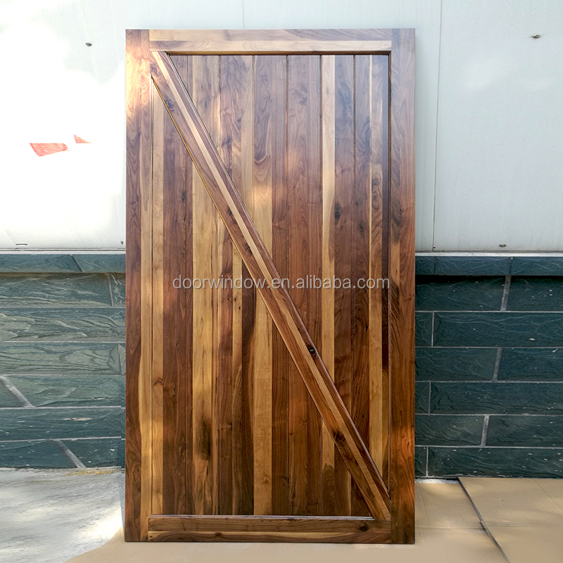 Unfinished Solid Wood Black Walnut Interior Doors Buy Interior