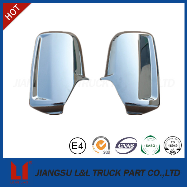 Good performance auto side chromed mirror cover for sprinter