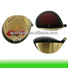 Titanium Golf Driver Head and Casting golf driver