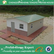 flat roof / gable roof / hipped roof prefabricated house philippines