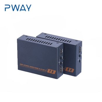 PWAY HDMI Extender Over Cat 6  with POC