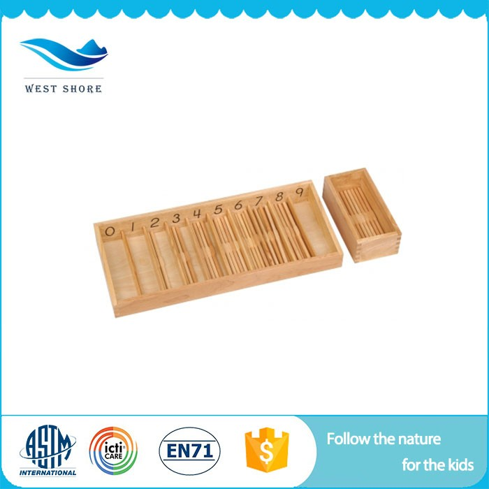 China Best preschool educational toys teaching aids for children montessori supply