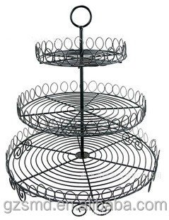 Hot Sale 3 Tier Cake Stand, Wire Cake Stand, Wedding Cake Stand