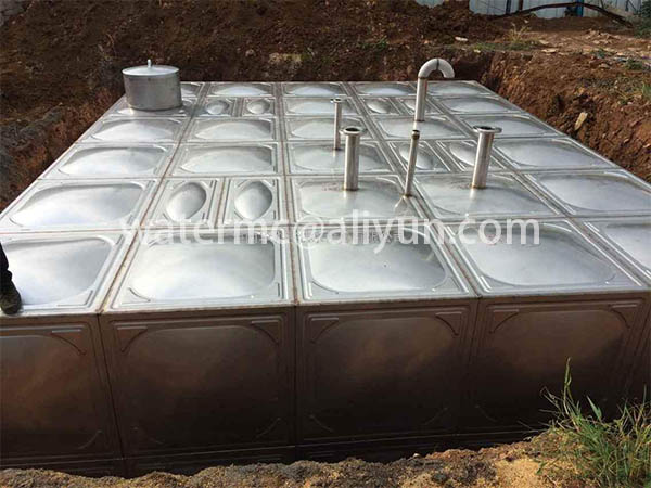 Stainless steel Underground water tank