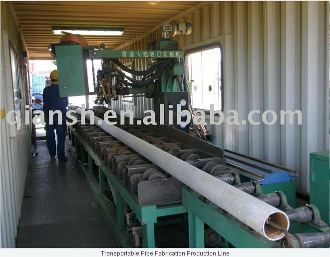 Transportable Pipe Fabrication Production Line