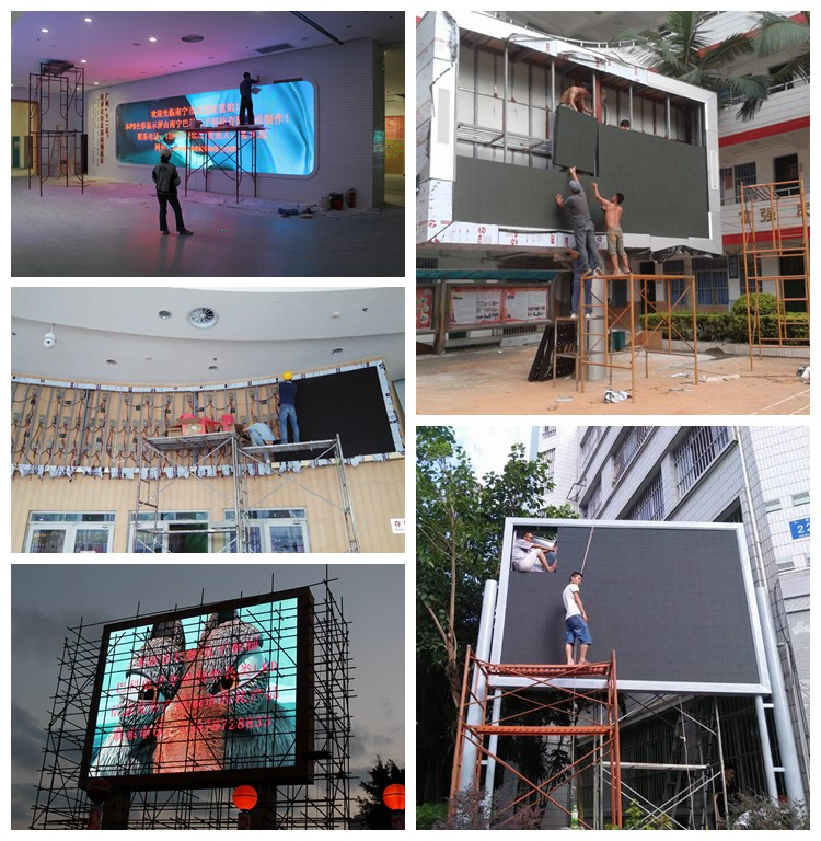Indoor P3 P5 fixed economical led display shopping mall advertising screen