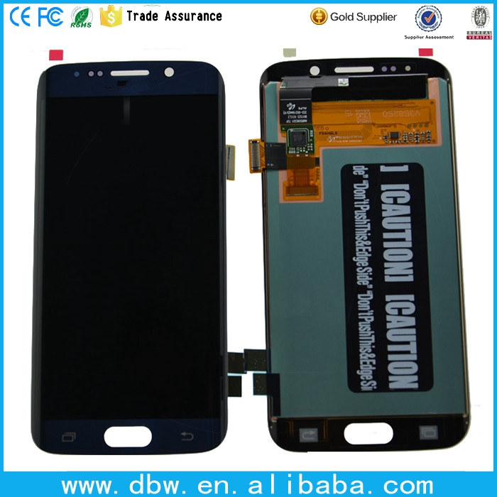 for samsung galaxy s6 edge lcd screen digitizer, lcd for samsung galaxy s6 edge, For samsung galaxy s6 edge Screen Replacement