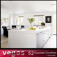 European standard High quality American white ash kitchen cabinet