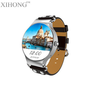 Best selling products HD Amoled color screen gps positioning mobile smart watch phone