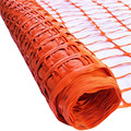 Medium Duty Barrier Fencing Safety Netting 1 x 50 mtr Roll Orange