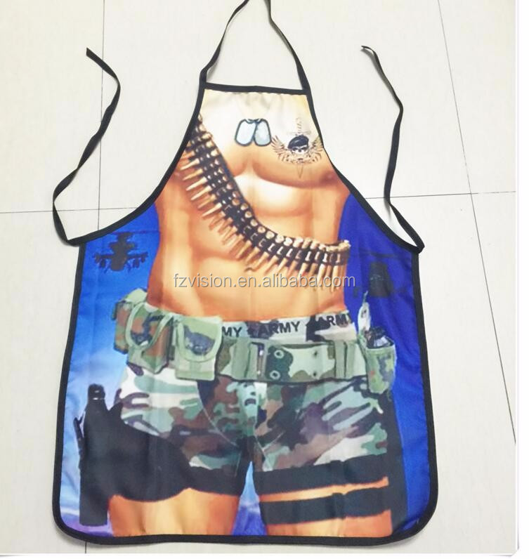 Unisex Apron with Print //Price: $9.95 & FREE Shipping