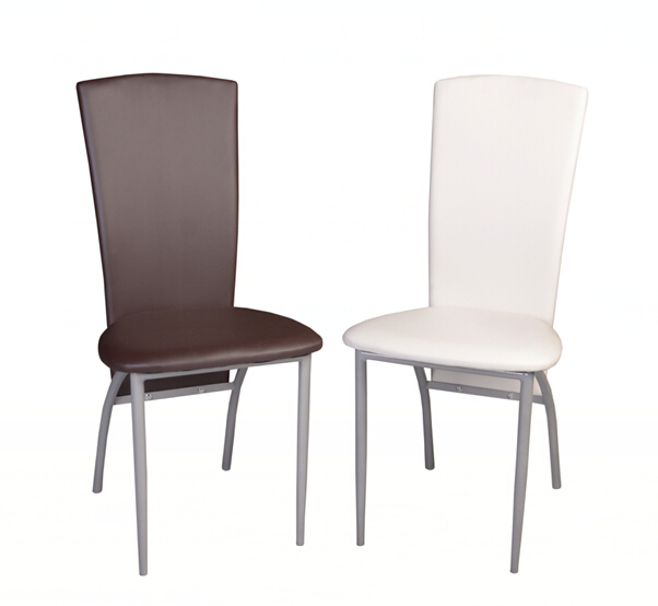 Wholesalers Cheapest Modern Leather Folding Chair PU Dining Chair