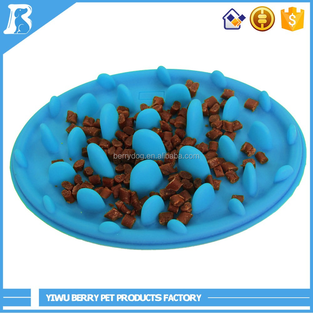 Wholesale In China No Slip Slow Eating Silicone Dog Feeder Dish