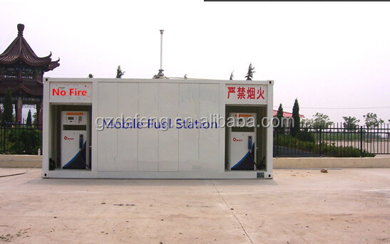 20 ft double wall containerized portable fuel station top quality from China