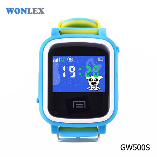 Newest wonlex wifi location color touch screen child smart for Localisation wifi