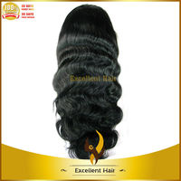 good quality natural color lace front body wave old fashion lady wigs for old women