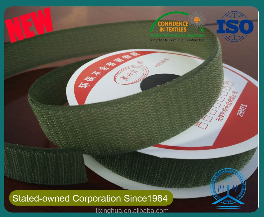 Woven Magic Hook And Loop Roll Tape/woven Hook And Loop Fabric Fastener