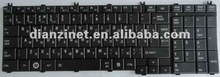 for TOSHIBA C650 L650 L655 laptop keyboard US black