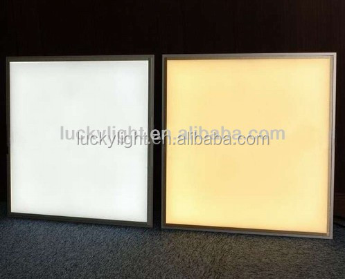 Factory supply high quality ultra slim ceiling led panel light 600x600