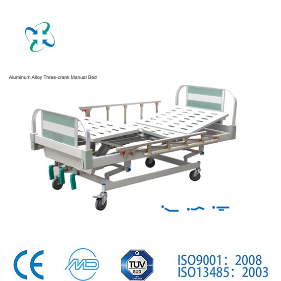 Hot sale! Nantong Medical Hospital Bed Table with Drawer