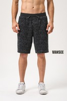 Wholesale sublimation full printing men's casual shorts
