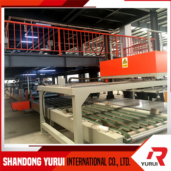 SENYD brand mgo fireproof material full automatic best quality mgo board machine low price