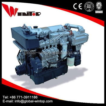 small boat 40hp marine diesel engine with gearbox
