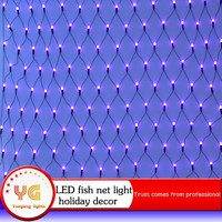 factory price Holiday time light led net light outdoor holiday time lights