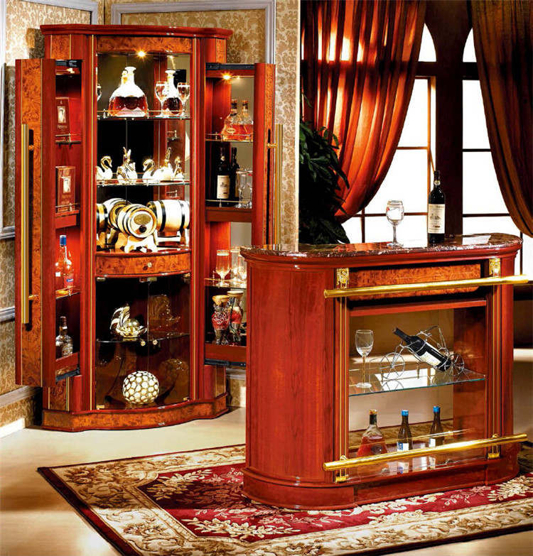 Furniture living room modern home mini bar counter design with bar tables b - Mini bar table design ...