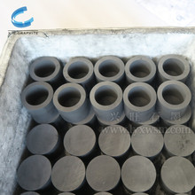 Graphite electrode plate for electrolysis