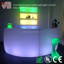 lighting Events Circular <strong>Bar</strong> Furniture / Luxury Outdoor and indoor LED <strong>Bar</strong> Counter YM-BT9080