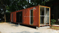 40ft container kit living modern container house