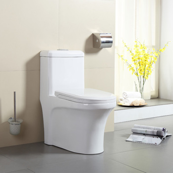 Rimless tornado siphonic dual flush one piece wc toilet high quality - MUCCI