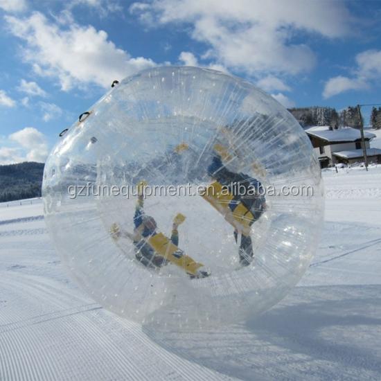 kid size hamster ball shape plastic bottles snow crystal ball