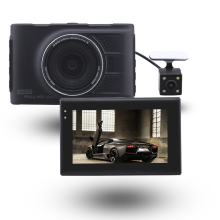 WDR 1080p Manual Car Camera HD DVR, FH03H G-sensor HD Dash Cam Camera,Double Camera HD Dvr
