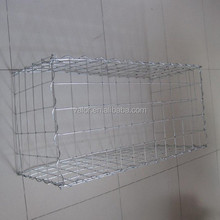 electro galvanized indonesia gabion basket/hexagonal gabion mesh/mattress reno
