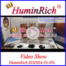 Huminrich Chelate Fertilizer Iron EDDHA Fe Micronutrients For Crops
