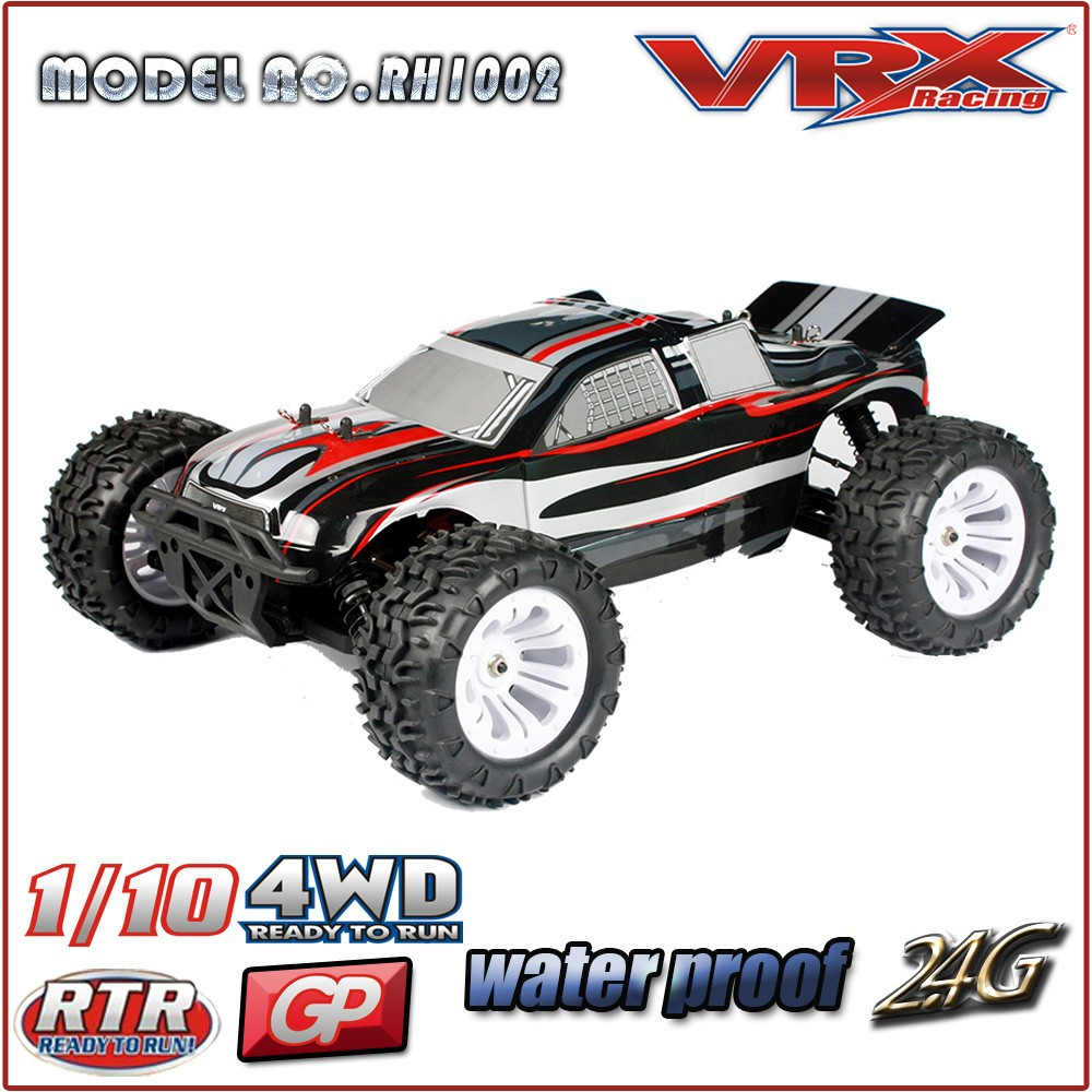 RC nitro truck from China factory in competitive price, 1/10th Scale 4WD RC gas powered model car