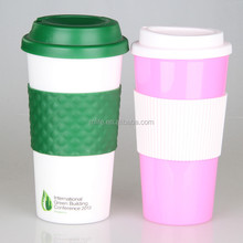 High Quality BPA Free plastic <strong>cup</strong> with Silicone Lid