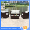 Outdoor Patio Sofa Wicker Furniture , Modern Rattan Furniture outdoor