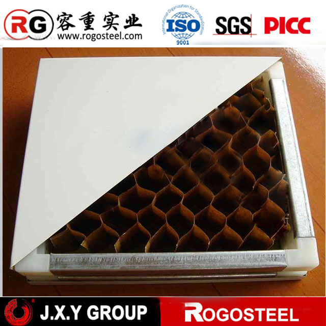 Prefabric cladding aluminium honeycomb widely used in decoration honecomb panel